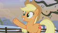 Applejack points toward the presents S5E20.png