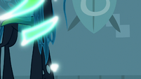 Chrysalis morphs from goose to normal S9E17