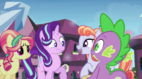 Crystal Pony 2 talking about the Equestria Games S6E1