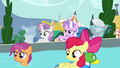 """Diamond Tiara """"all the ponies we're keeping out"""" S4E15.png"""