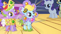 Fillies dancing in glittering costumes S1E23.png