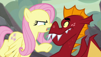 "Fluttershy ""Spike is stronger than you"" S9E9"