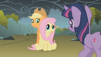 "Fluttershy ""because they're not dragons"" S01E07"