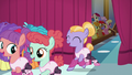 Hoofer Steps' dance class returns backstage S6E4.png