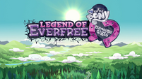 Legend of Everfree opening credits crystallized logo EG4