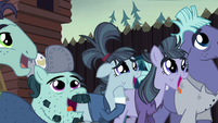 McColts in varying degrees of amazement S5E23