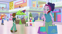 People walking through the Canterlot Mall EGS3