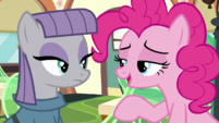 "Pinkie Pie ""Classic Maud sense of humor"" S7E4"