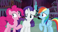 "Pinkie Pie ""or a secret button"" S8E26"