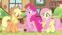 Pinkie Pie with fangs S4E07