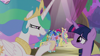 "Princess Celestia ""we play charades"" S8E7"
