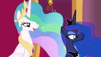 Princess Celestia -you might find you need help- S7E25