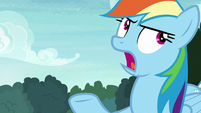 "Rainbow Dash ""it's always about you"" S8E17"
