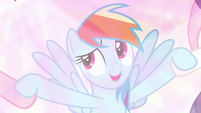 "Rainbow Dash ""we keep telling bad guys"" S9E2"