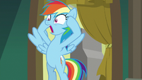 Rainbow Dash gasping with fright S8E5