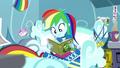 Rainbow Dash starts reading Daring Do SS12.png