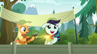 "Rara Singing ""Equestria, a Land of Friends…"" S5E24"
