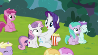 "Rarity ""like no time has passed at all"" S7E6"