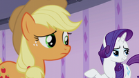"Rarity ""oh, Applejack, honestly!"" S6E10"