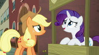 "Rarity ""the map picked us for a reason"" S5E16"