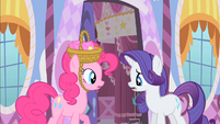 Rarity declining Pinkie's invitation S1E25