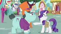 Rarity grin S4E23