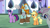 "Rockhoof ""even Canterlot looks different"" S8E21"