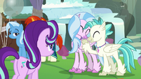 Silverstream and Terramar happy S9E11