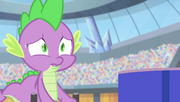 Spike -tell me this isn't happening- S4E24