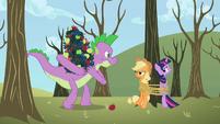 Spike stealing apples S2E10