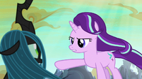 "Starlight Glimmer ""run away and seek revenge"" S6E26"