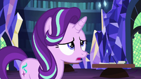 "Starlight Glimmer answering ""hard"" S7E19"