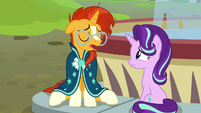"Sunburst ""never going to find the friendship problem"" S8E8"