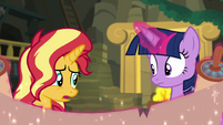 "Sunset Shimmer ""that sounds promising"" EGFF"