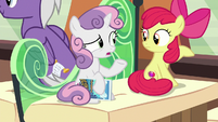 "Sweetie Belle ""part bird, part pony"" S8E6"