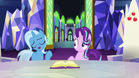 "Trixie ""if anypony is gonna teach me"" S7E2"