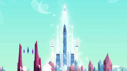 Visão distante do Império do Cristal S03E11