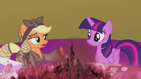 """Applejack """"you and I bein' friends"""" S5E25"""