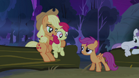 Applejack 'Fraid so, Scootaloo' S3E06