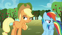 Applejack -usually Big Mac goes along- S8E5