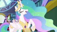 "Celestia ""a better Equestrian thespian"" S8E7"
