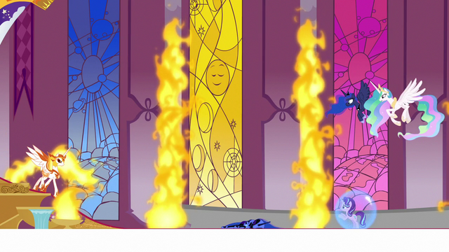 File:Daybreaker approaches the downed Nightmare Moon S7E10.png