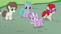 Diamond Tiara leading the foals S5E18.png