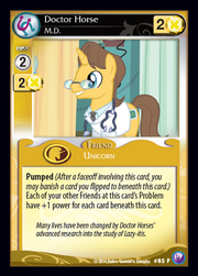 Doctor Horse, M.D. card MLP CCG