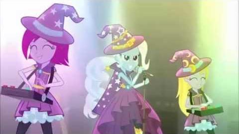 Equestria Girls Rainbow Rocks - Tricks Up My Sleeve - French - No Watermarks -HD-