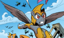FIENDship is Magic issue 5 Chrysalis guard disguise