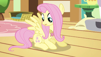 Fluttershy taking a look S3E13