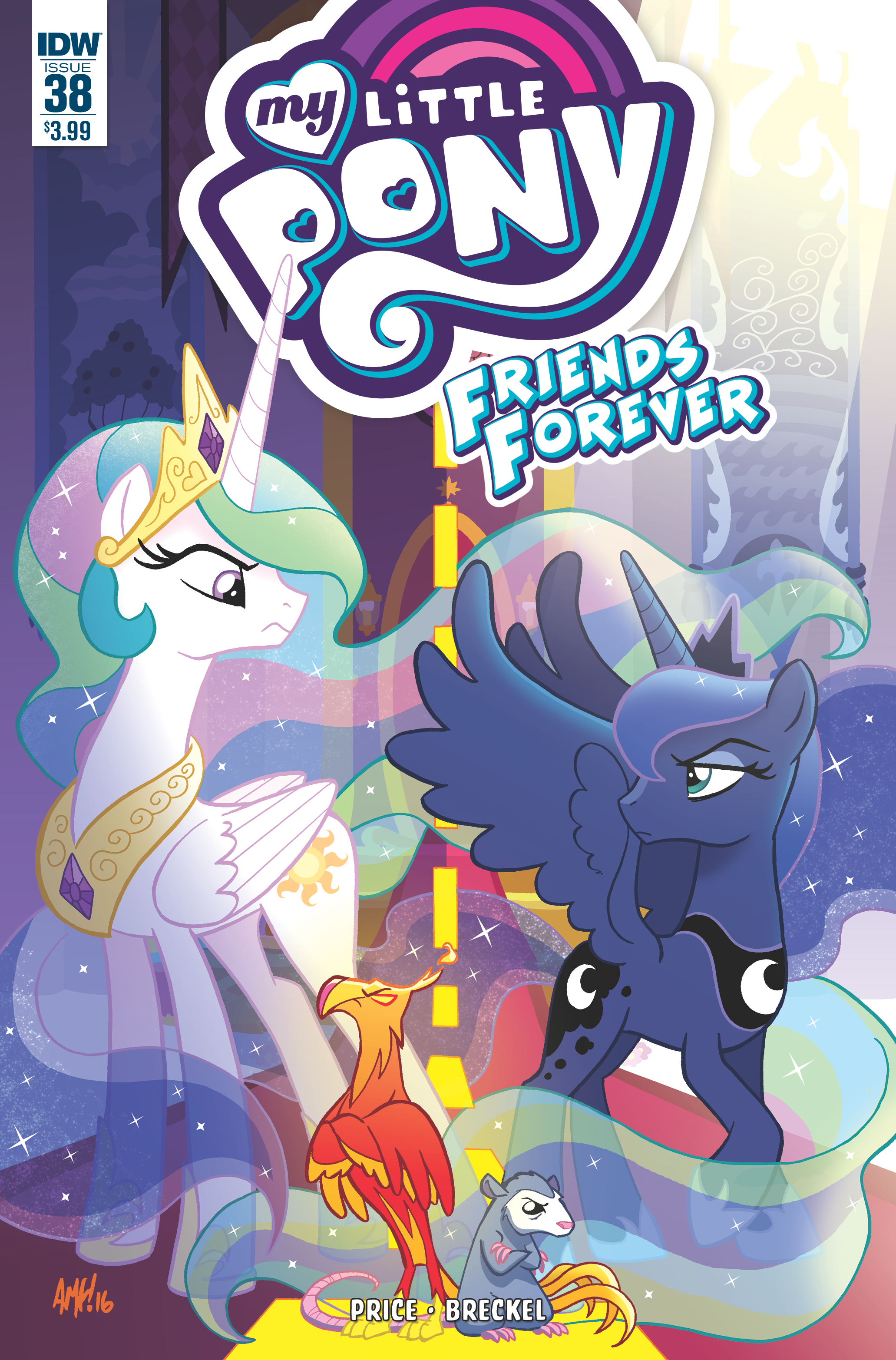 IDW Comics MY LITTLE PONY /'Friendship Is Magic/' /& /'Friends Forever/' Equestria