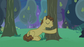 Grand Pear hugging his pear trees S7E13.png