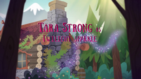 Legend of Everfree credits - Tara Strong EG4